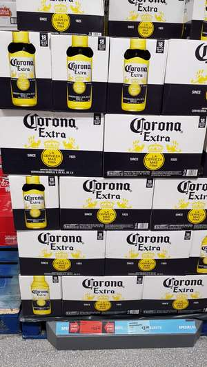 Box of 18 bottles of corona beer for only £11.99 at Aldi Ipswich