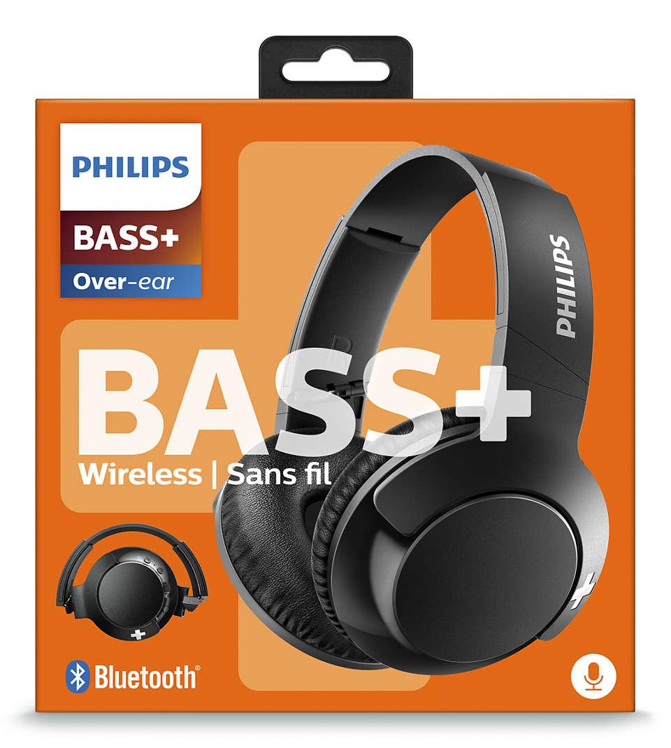Headphones SHB-3175BK/00 Black BASS+ Phillips £16.50 at Amazon Prime / £20.99 Non Prime
