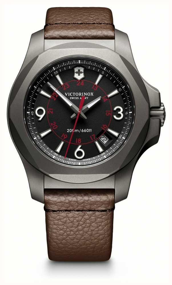 Victorinox Titanium On Leather and Sapphire Crystal, Inox watch £200 @ TK Maxx
