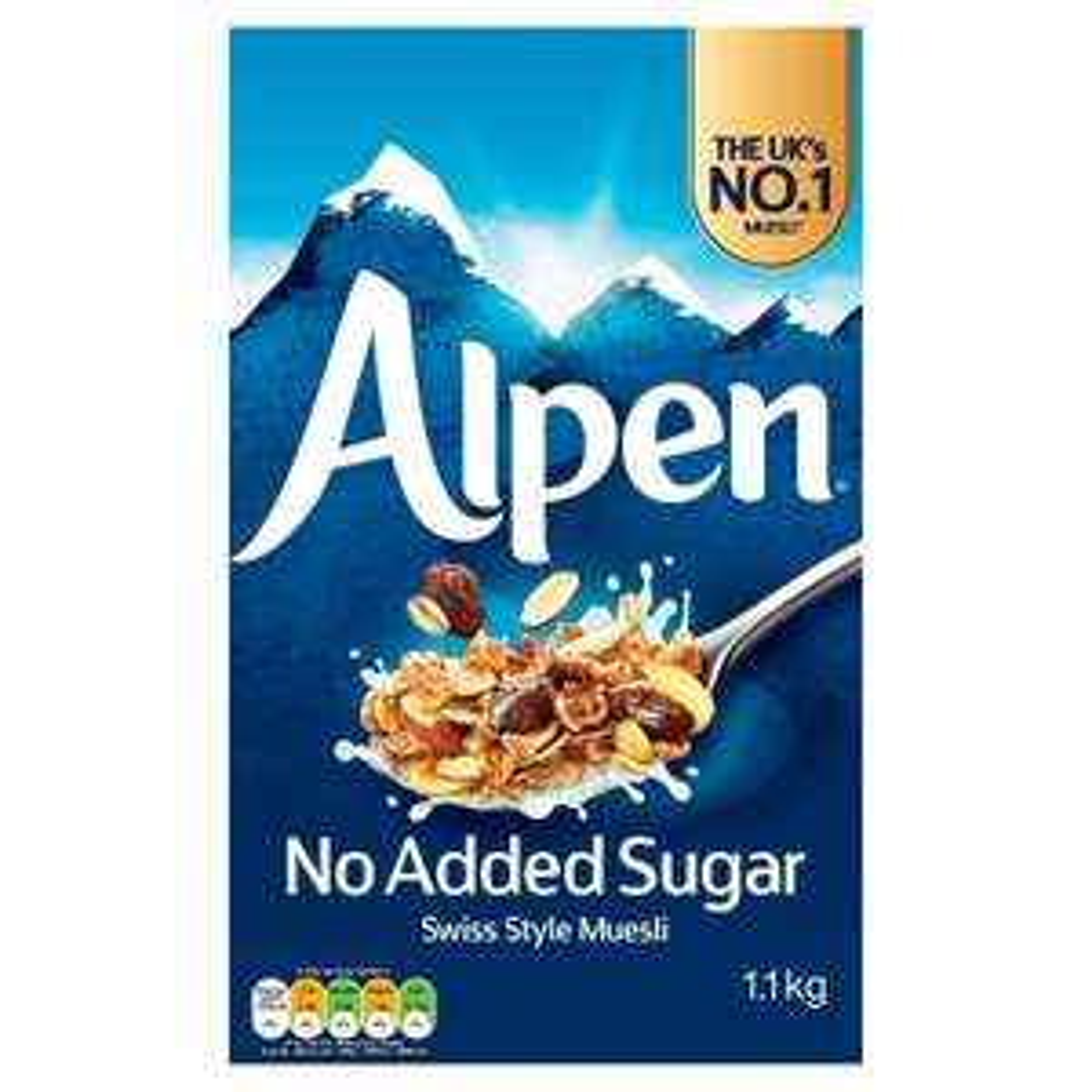 Alpen No Added Sugar Swiss Style Muesli 1.1kg £2.99 @ Iceland