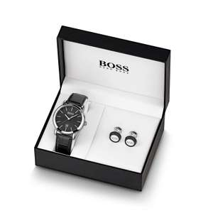 BOSS Classic Men's Watch & Cufflinks Gift Set £80 @ Ernest Jones