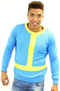 Official Fallout Vault Boy Knitted Jumper Sweater (Numskull) just £2.50 (Prime) Sold by Geekstoredotcom and FBA (+£4.49 Non-Prime)