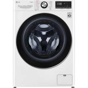 LG V9 F4V910WTS Wifi Connected 10.5Kg Washing Machine with 1400 rpm - White - A+++ Rated £658 @ AO