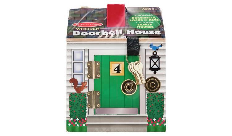 Melissa & Doug Doorbell House Playset £21@ Argos