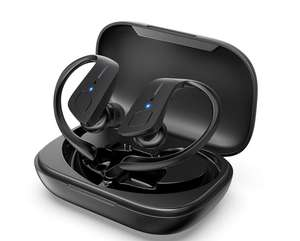 IPX5 Waterproof 30H Play Time In Ear Stereo Sound Wireless Earbuds £28 Sold by HolyHigh EU and Fulfilled by Amazon.