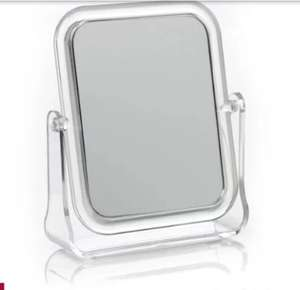 Shaving or make up mirror £1.75 at Wilko Harlow