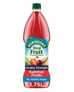 Robinson Squash Double Concentrate 1.75l is 75p @ Tesco Parkhead