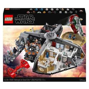 LEGO 75222 Star Wars Betrayal at Cloud City £224.99 @ Smyths toys click and collect only