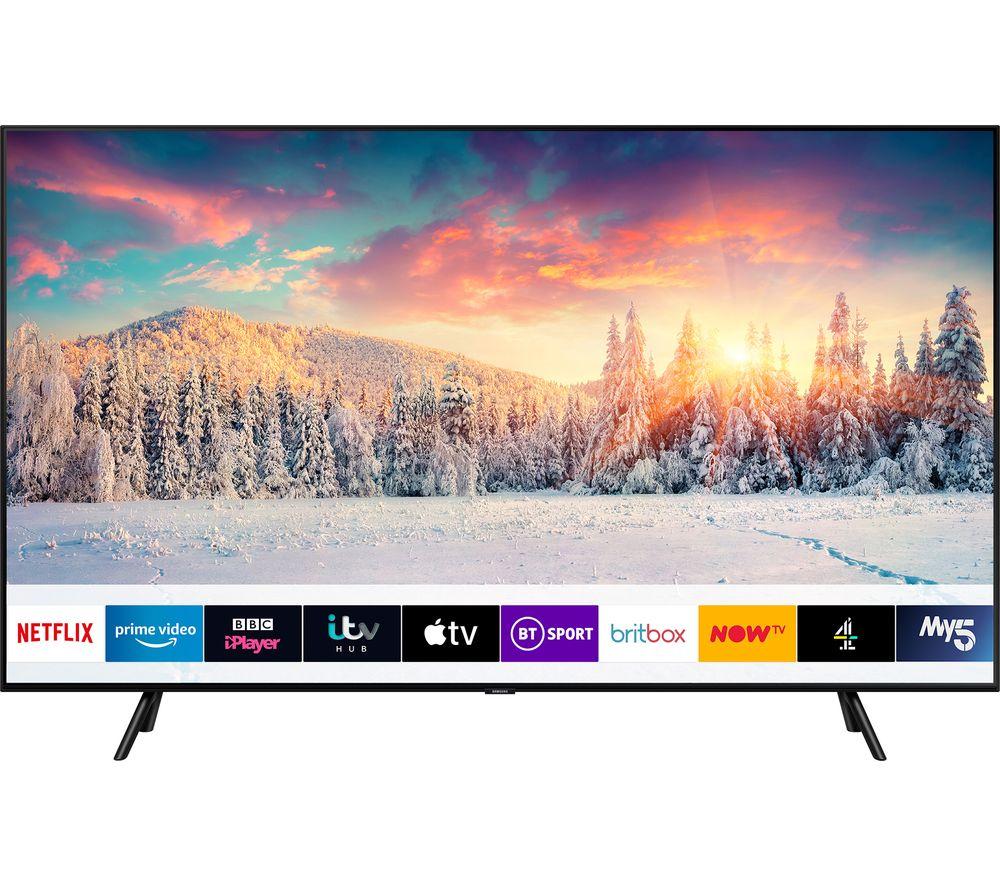 "Samsung QE65Q70R (2019) QLED HDR 1000 4K Ultra HD Smart TV, 65"" with TVPlus/Freesat HD & Apple TV App - £1,099 (With Code) @ Currys"