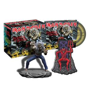 Iron Maiden - The Number of the Beast (Collector's Edition) [2015 RM] Box Set with Figure, Patch & MP3 £12.36 (+ £2.99 NP) @ Amazon
