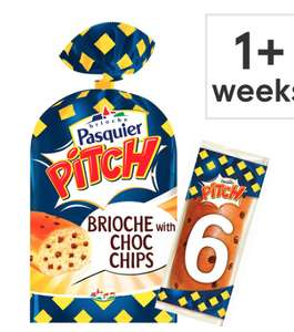 Pitch Chocolate Chip Brioche Roll 6 Pack