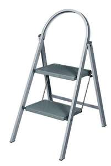 Abru 2 Step Handy Stepstool - Grey - £13 + Free Click & Collect @ Wickes
