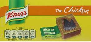 32 Knorr Stock Cubes Vegetable / Chicken / Beef x 10g - £1 Instore @ Fulton Foods