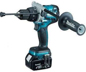 Makita DHP481Z 18v LXT Brushless Lithium-Ion Combi Hammer Drill with 1 x 5.0Ah BL1850 Battery for £142.85 delivered @ Amazon