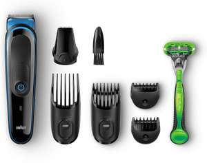 Braun Multi Grooming Kit MGK3040, 7-In-1 Precision Trimmer for Beard and Hair Styling - £14.37 @ Amazon Prime (+£4.49 non-Prime)