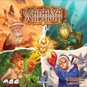 Scarabya Board Game £9.99 @ 365games