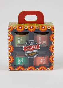 Half price: Chilli Dipping Sauce Gift Set - £5 (Free click and Collect) @ Matalan