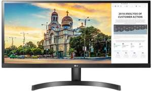 LG Ultrawide 29WL50S-B 29-Inch IPS HDR10 75Hz Monitor (2560x1080, 2xHDMI, 250 CD/M2, 5ms, FreeSync) - £182.22 delivered @ Amazon Germany