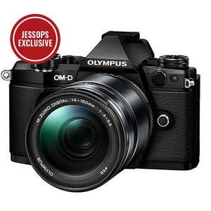 Olympus OM-D E-M5 Mark II Compact System Camera in Black with 14-150mm Lens £649 @ Jessops