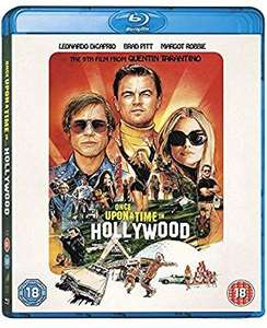 Once upon a time in Hollywood blu ray £9.99 @ Amazon (+£2.99 p&p non prime)