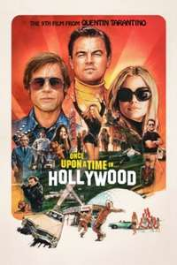 Once Upon a Time in Hollywood iTunes 4K £5.99