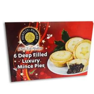 6 deep filled luxury Mince Pies 29p @ Farmfoods Portsmouth