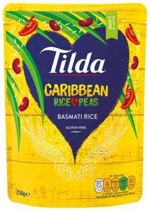 Tilda Caribbean rice and peas 15p @ Aldi Ashby