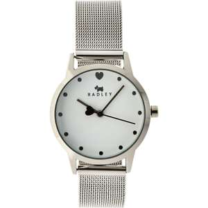 Radley Silver Tone Analogue Watch £31.98 Click & Collect @ TK Maxx