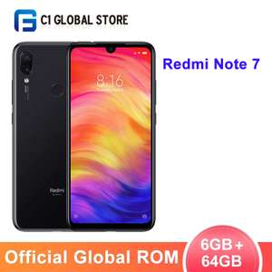 "Global ROM Xiaomi Redmi Note 7 6GB RAM 64GB Snapdragon 660 6.3"" Screen 48MP Camera 4000mAh - £107.11 AliExpress C1 Global Store"