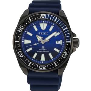 Seiko Prospex Samurai Save The Ocean Auto Diver's Watch SRPD09K1 £285.95 with code at watcho.co.uk