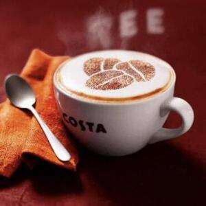 Free Costa coffee until 31st January for Superdrug loyalty card members (email invite)
