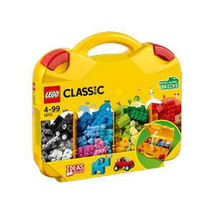 LEGO Classic Creative Suitcase - 10713 now £12 @ The Entertainer free C&C or £3.99 delivery