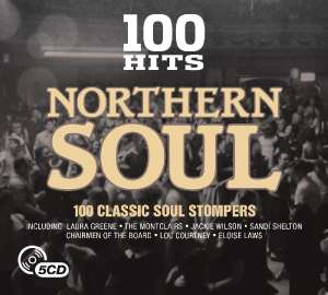 100 Hits - Northern Soul 5 CD Box Set now £2.99 (Prime) + 99p (non Prime) at Amazon