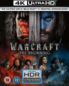 Warcraft: The Beginning 4K & Everest 4K £5 each at Currys Trafford Centre