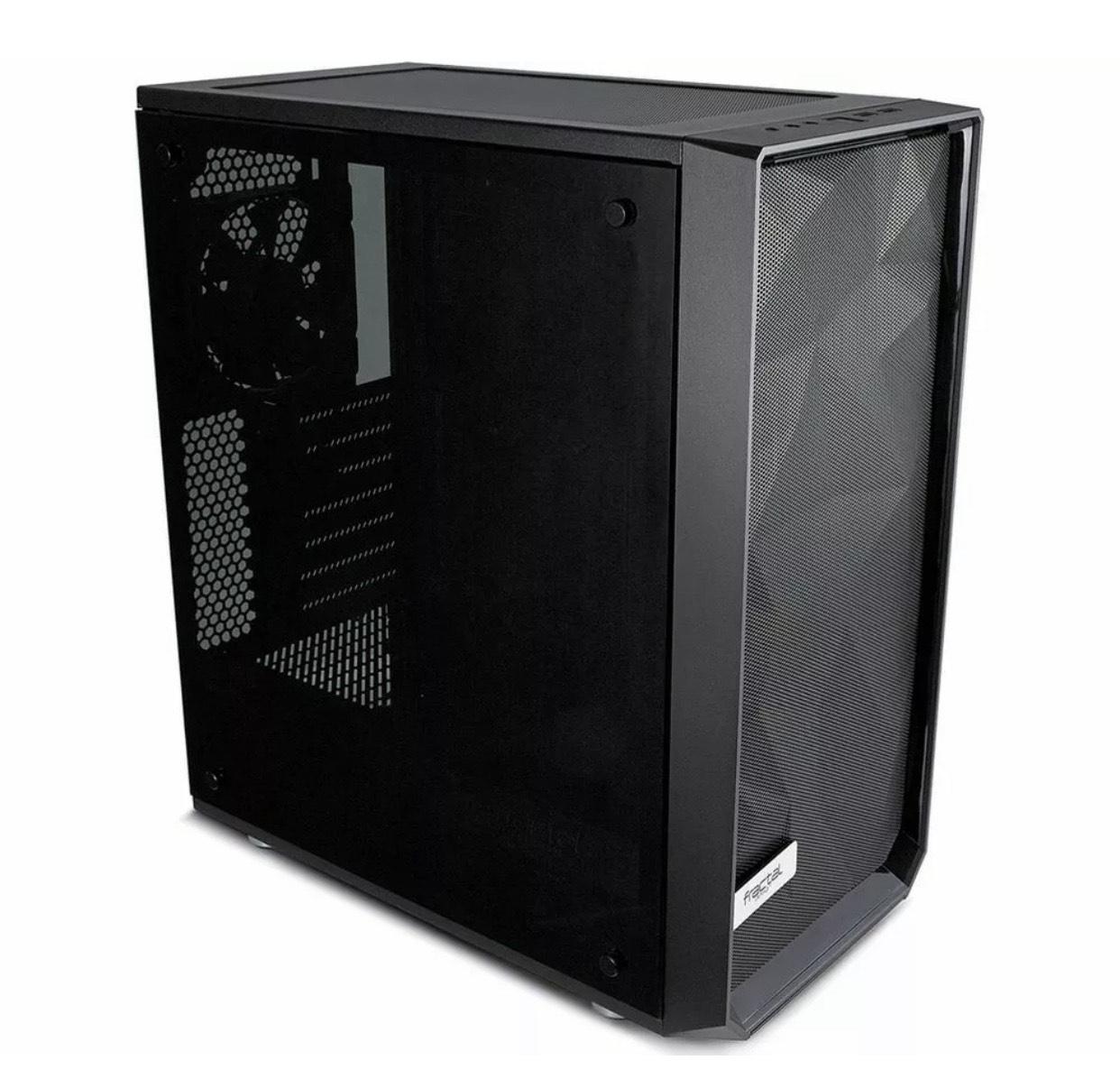 FRACTAL DESIGN Meshify C Blackout ATX Mid Tower PC Case £69.99 Currys