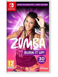 Zumba Burn it Up Nintendo Switch £24.85 Free Delivery @ Base