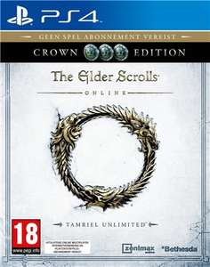 The Elder Scrolls Online Tamriel Unlimited Crown Edition PS4 now £2.95 delivered at The Game Collection