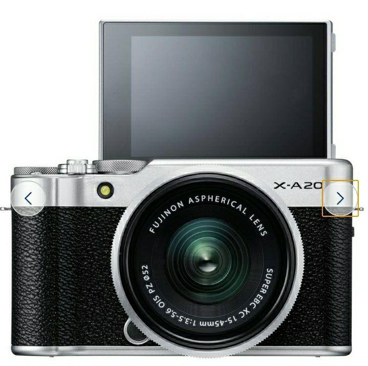Fujifilm X-A20 Mirrorless Camera With 15-45mm Lens £244.99 @ Argos