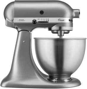 KitchenAid 5K45SSBSL Classic Stand Mixer 4.3L £276.99 at Amazon