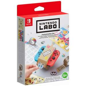 Nintendo Labo Customization Set for Nintendo Switch now £3.95 delivered at The Game Collection