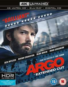 Argo [4K UHD] [2016] [Includes Digital Download] [Blu-ray] £9.99 @ Amazon