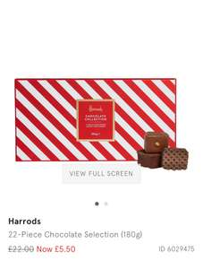 Harrods Chocolate gift box £11.45 Delivered