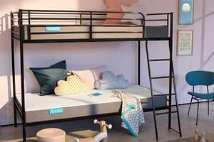 Simba Hybrid® Bunk Bed Mattress £149( It comes with a 100 night trial and 10 year guarantee) + free del @ Simba Sleep