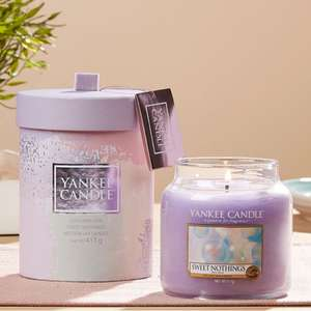 Official Yankee Candle Sweet Nothings Medium Jar Gift Set £9.00 / £8.55 For New Accounts @ Yankee Bundles