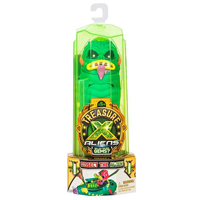 Treasure X Aliens Single Pack £6.19 @ Amazon Prime / £10.68 Non Prime
