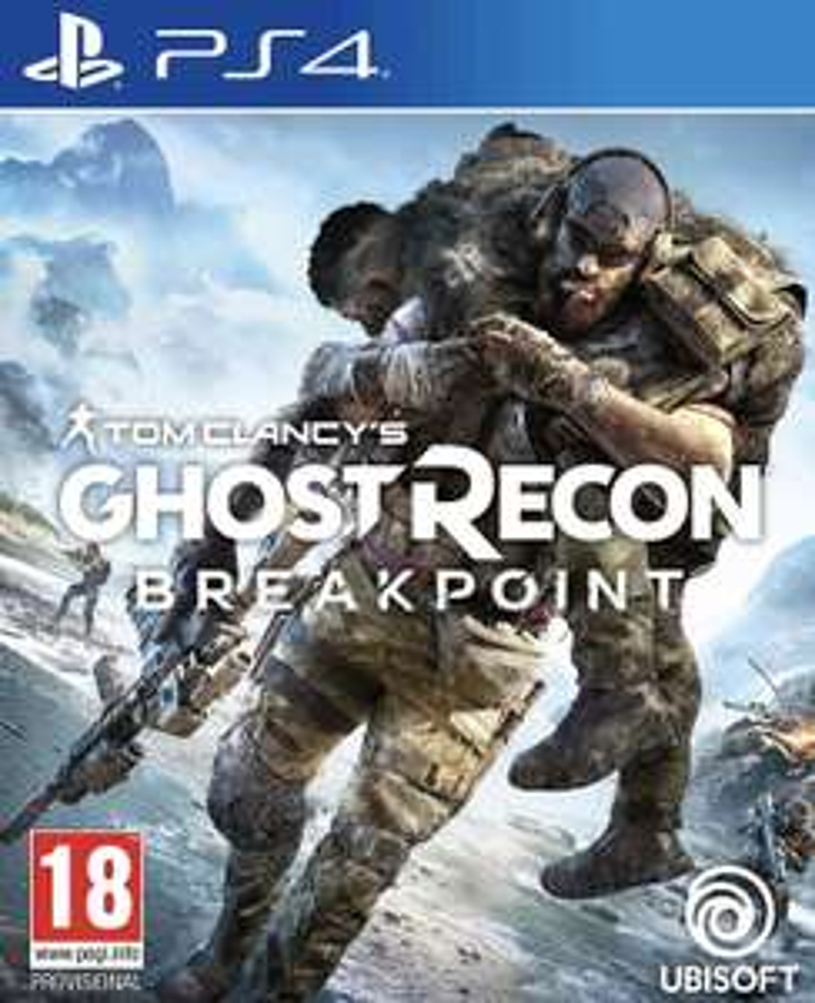 Tom Clancy's Ghost Recon: Breakpoint (PS4) (Ex-rental) £15.99 @ boomerang rentals via eBay