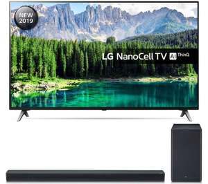 """LG 55SM8500PLA 55"""" Smart 4K Ultra HD TV with Nano Cell, HDR10, Dolby Vision and Dolby Atmos + Free LG SL55Y Sound bar £699 @ Argos"""