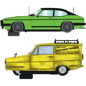 Scalextric Slot Car Pre-Order (C4179A) Only Fools And Horses Twin Pack £77.39 @ Jadlam Toys and Models