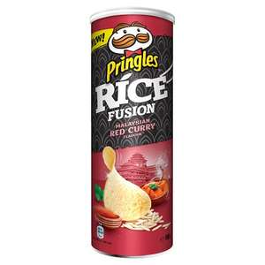 Pringles Rice Fusion, Malaysian Red Curry 50p in store at B&M Sale, Trafford