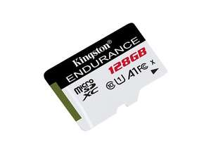 Kingston High Endurance 128GB UHS-1 (U1) Class 10 Micro SD card Delivered at CCL Online